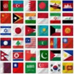 asian-flags