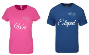 Couples Tee We Eloped